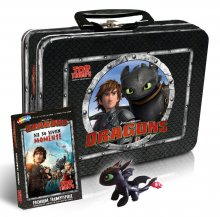 DreamWorks Dragons Top Trumps karetní hra with Kids Box - German