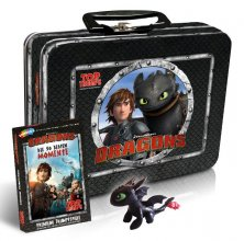 DreamWorks Dragons Top Trumps Card Game with Kids Box - German V