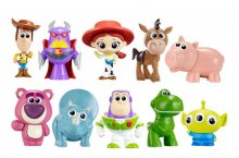 Toy Story mini figurky 10-Pack 4 cm