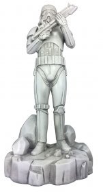 Star Wars Garden Ornament Stone Stormtrooper 42 cm
