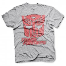 Transformers pánské tričko Retro Autobot Heather Grey