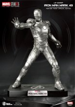 Marvel Life-Size Statue Iron Man Mark 43 Pewter Finish Special E