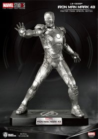 Marvel Life-Size Socha Iron Man Mark 43 Pewter Finish Special E