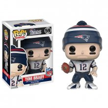NFL POP! Football figurka Tom Brady (New England Patriots) 9 cm