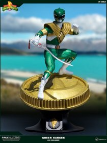 Power Rangers Socha 1/4 Green Ranger PCS Exclusive 58 cm