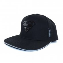 DC Superman Curved Bill Cap Metal Effect
