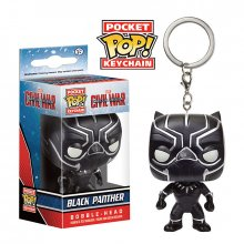 Marvel POP! přívěsek na klíče Civil War Black Panther 4 cm