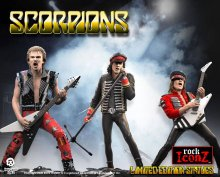 Scorpions Rock Iconz Socha 3-Pack Limited Edition 23 cm