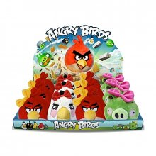 Angry Birds plyšová hračka The Girls Red bird 12 cm