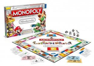Nintendo Board Game Monopoly *French Version*