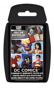 DC Comics Card Game Top Trumps *French Version*