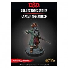 D&D Collectors Series Miniatures Unpainted Miniature Captain N'g
