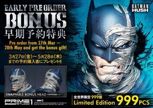 Batman Hush Socha 1/3 Batman Batcave Deluxe Bonus Version 88 cm
