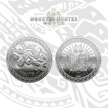 Monster Hunter sběratelská mince The Hunt Awaits (silver plated)