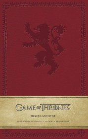 Game of Thrones Hardcover Ruled Journal House Lannister