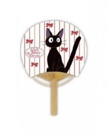 Kiki's Delivery Service Fan Jiji & Ribbon