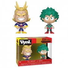 My Hero Academia VYNL Vinyl Figures 2-Pack All Might & Deku 10 c
