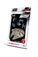 Star Wars Level 2 Easy-Click Snap Model Kit Series 1 Millenium F