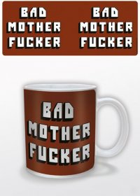 Bad Mother Fucker Mug Logo