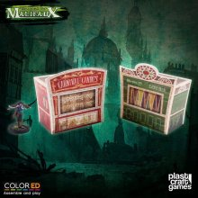 Malifaux ColorED Miniature Gaming Model Kit 32 mm Circus Stand S