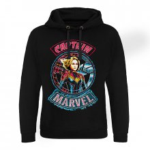Captain Marvel hoodie mikina Patch