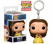 Beauty and the Beast Pocket POP! vinylový přívěšek na klíče Bell