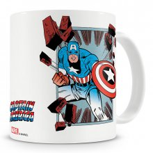 Marvel Comics hrnek Captain America Comic Strip
