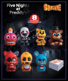 Five Nights at Freddy's Squishme Anti-Stress Figures 6 cm Displa