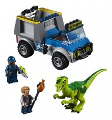 LEGO® Juniors Jurassic World™ - Raptor Rescue Truck