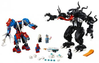 LEGO® Marvel Super Heroes™ Spider Mech vs. Venom