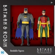 Batman The Animated Series gumové ohebné figurky 2-Pack 14 cm