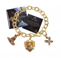 Harry Potter náramek Lumos Mrzimor (gold plated)