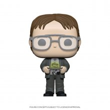 The Office POP! TV Vinylová Figurka Dwight w/Jello Stapler 9 cm
