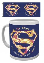 Superman Hrnek Mum Greatest Mothers Day