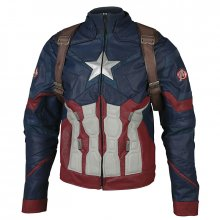 Captain America Civil War replika bunda Captain America Jacket