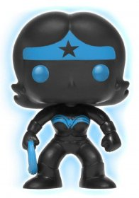 DC Comics POP! Heroes Vinyl Figure Wonder Woman Silhouette GITD