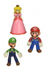 World of Nintendo Akční figurka 3-Pack Mushroom Kingdom 10 cm