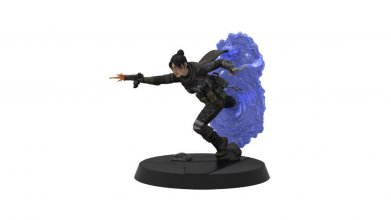 Apex Legends Figures of Fandom PVC Socha Wraith 20 cm