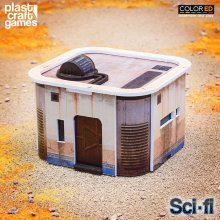 Sci-fi ColorED Miniature Gaming Model Kit 28 mm Consortium House