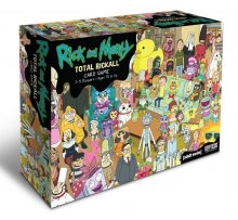Rick and Morty Cooperative karetní hra Total Rickall *English Ve