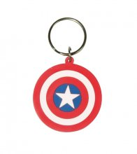 Marvel Comics Rubber Acrylic Captain America Shield