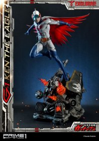 Science Ninja Team Gatchaman Statues 1/4 G-1 Ken the Eagle & Exc