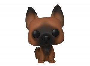 Walking Dead POP! Television Vinylová Figurka Dog 9 cm