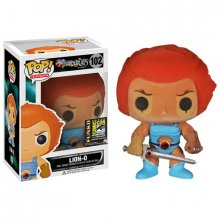 Thundercats POP! figurka Lion-O Flocked SDCC Exclusive 10 cm