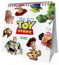 Toy Story Desk Easel Calendar 2019 English Version*