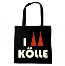 I Love Kölle Tote Bag