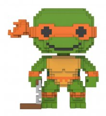 Teenage Mutant Ninja Turtles POP! 8-Bit Vinylová Figurka Michela
