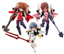 Evangelion Desktop Army Figures 8 cm prodej v sadě Movie Version