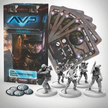 AvP Tabletop Game The Hunt Begins Expansion Pack USCM Marines