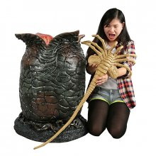 Aliens replika Xenomorph Egg & Latex Facehugger 91 cm